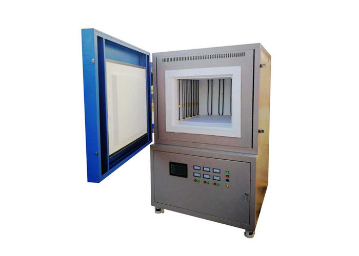 Durable Industrial Tempering Oven , High Temperature Benchtop Muffle Furnace