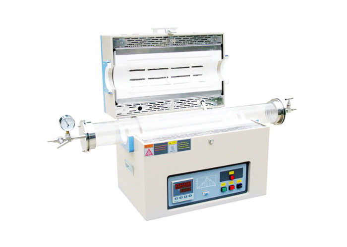 University Quartz Tube Furnace , 1200 ℃ High Temperature Laboratory Furnace