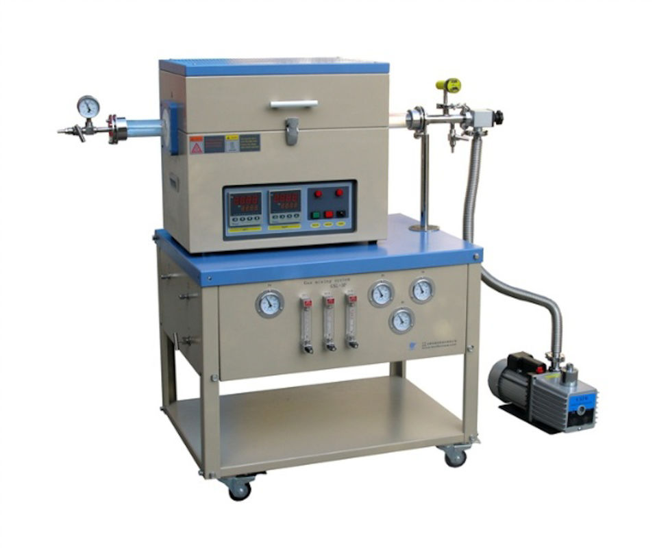Vacuum Lab CVD Tube Furnace, Rotary CVD Testing Machine 7 Inch HD Touch Screen
