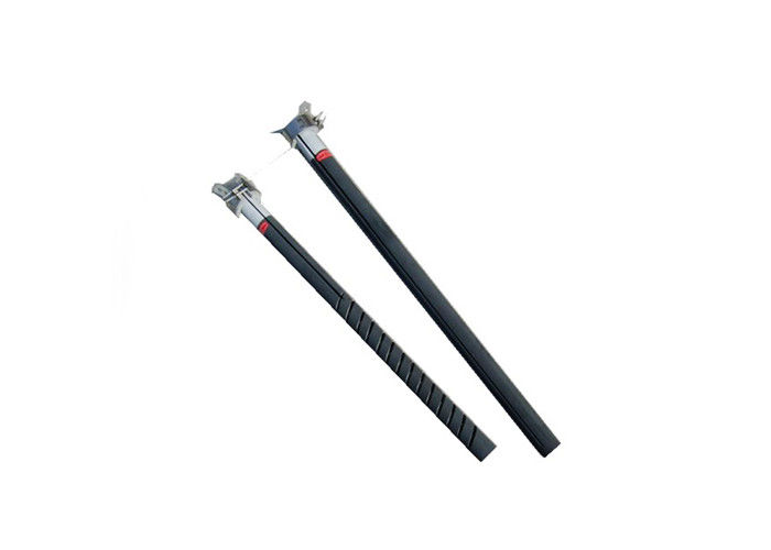Single Spiral Heating Element , Magnet Industry Silicon Carbide Rod Long Life